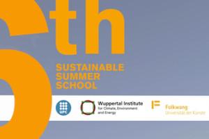 6th Sustainable Summer School